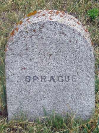 SPRAGUE, UNK - Dundy County, Nebraska | UNK SPRAGUE - Nebraska Gravestone Photos