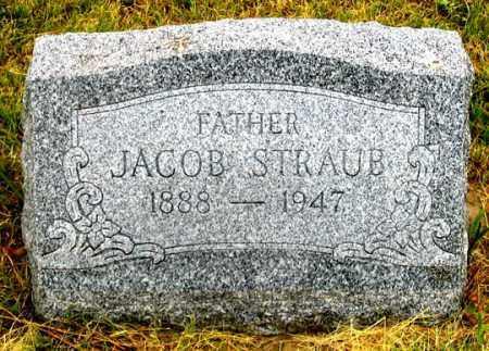 STRAUB, JACOB - Dundy County, Nebraska | JACOB STRAUB - Nebraska Gravestone Photos
