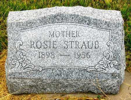 STRAUB, ROSIE - Dundy County, Nebraska | ROSIE STRAUB - Nebraska Gravestone Photos
