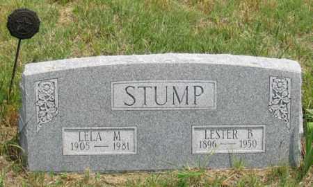 PEARSON STUMP, LELA M. - Dundy County, Nebraska | LELA M. PEARSON STUMP - Nebraska Gravestone Photos