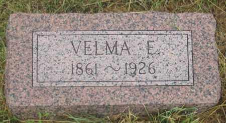 SULLIVAN, VELMA ELDORA - Dundy County, Nebraska   VELMA ELDORA SULLIVAN - Nebraska Gravestone Photos