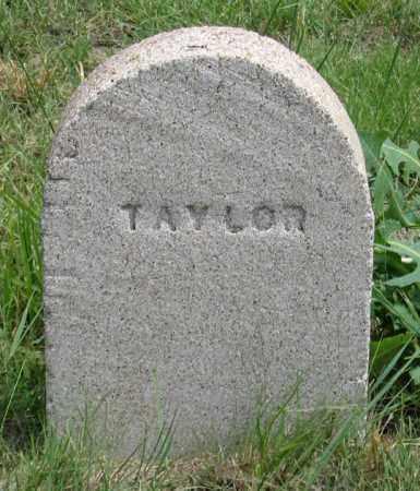 TAYLOR, INFANT - Dundy County, Nebraska | INFANT TAYLOR - Nebraska Gravestone Photos
