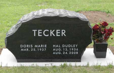 TECKER, HAL DUDLEY - Dundy County, Nebraska | HAL DUDLEY TECKER - Nebraska Gravestone Photos