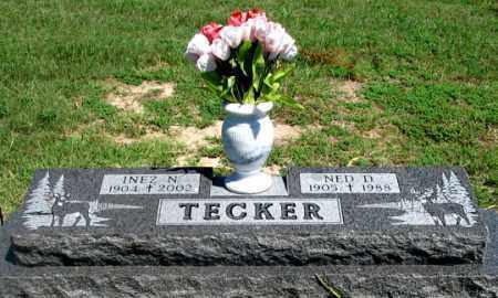 TECKER, INEZ N. - Dundy County, Nebraska | INEZ N. TECKER - Nebraska Gravestone Photos