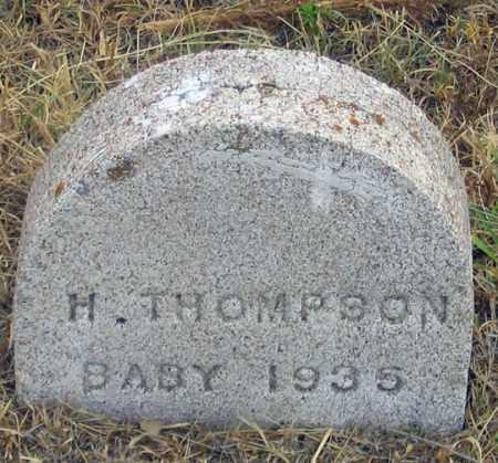 THOMPSON, H. BABY 1935 - Dundy County, Nebraska | H. BABY 1935 THOMPSON - Nebraska Gravestone Photos