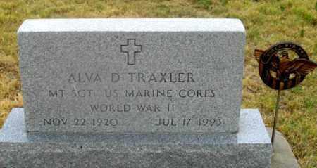 TRAXLER, ALVA DALE - Dundy County, Nebraska   ALVA DALE TRAXLER - Nebraska Gravestone Photos