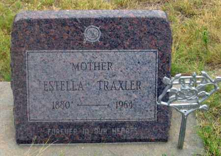 TRAXLER, JULIA ESTELLA - Dundy County, Nebraska | JULIA ESTELLA TRAXLER - Nebraska Gravestone Photos