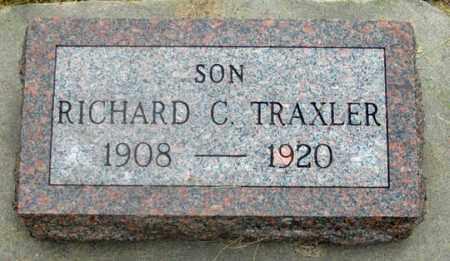 TRAXLER, RICHARD CLARENCE - Dundy County, Nebraska | RICHARD CLARENCE TRAXLER - Nebraska Gravestone Photos