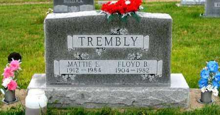 TREMBLY, FLOYD B. - Dundy County, Nebraska | FLOYD B. TREMBLY - Nebraska Gravestone Photos