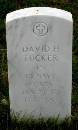TUCKER, DAVID HENRY - Dundy County, Nebraska | DAVID HENRY TUCKER - Nebraska Gravestone Photos
