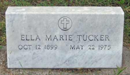 TUCKER, ELLA MARIE - Dundy County, Nebraska   ELLA MARIE TUCKER - Nebraska Gravestone Photos