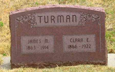 TURNER TURMAN, CLARA E. - Dundy County, Nebraska | CLARA E. TURNER TURMAN - Nebraska Gravestone Photos