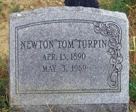 "TURPIN, NEWTON ""TOM"" - Dundy County, Nebraska | NEWTON ""TOM"" TURPIN - Nebraska Gravestone Photos"