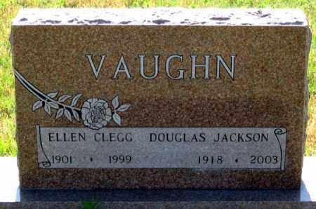 VAUGHN, ELLEN - Dundy County, Nebraska   ELLEN VAUGHN - Nebraska Gravestone Photos
