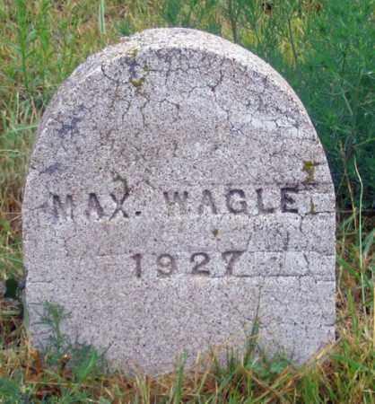 "WAGLE, WILLIAM F. ""MAX"" - Dundy County, Nebraska   WILLIAM F. ""MAX"" WAGLE - Nebraska Gravestone Photos"