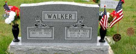 "WALKER, FREDRICK ""BILL"" - Dundy County, Nebraska | FREDRICK ""BILL"" WALKER - Nebraska Gravestone Photos"