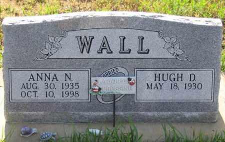 WALL, HUGH D. - Dundy County, Nebraska | HUGH D. WALL - Nebraska Gravestone Photos