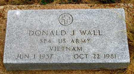 WALL, DONALD JAMES - Dundy County, Nebraska | DONALD JAMES WALL - Nebraska Gravestone Photos