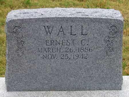 WALL, ERNEST CLINTON - Dundy County, Nebraska | ERNEST CLINTON WALL - Nebraska Gravestone Photos