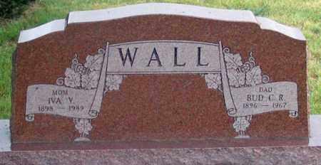 "WALL, CHARLES R. ""BUD"" - Dundy County, Nebraska | CHARLES R. ""BUD"" WALL - Nebraska Gravestone Photos"
