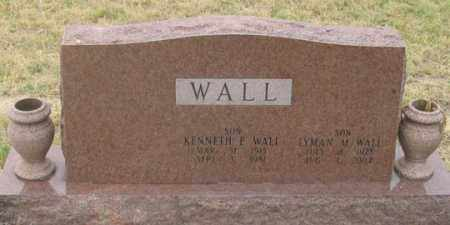 WALL, LYMAN M. - Dundy County, Nebraska | LYMAN M. WALL - Nebraska Gravestone Photos