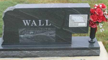 WALL, LAURA RICHARD - Dundy County, Nebraska | LAURA RICHARD WALL - Nebraska Gravestone Photos