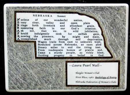 WALL, LAURA PEARL SONNET - Dundy County, Nebraska | LAURA PEARL SONNET WALL - Nebraska Gravestone Photos
