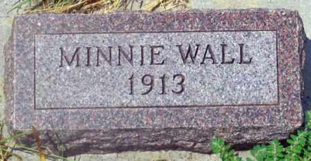 WALL, MINNIE MAY - Dundy County, Nebraska   MINNIE MAY WALL - Nebraska Gravestone Photos