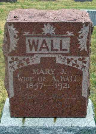 POWELL WALL, MARY J. - Dundy County, Nebraska | MARY J. POWELL WALL - Nebraska Gravestone Photos