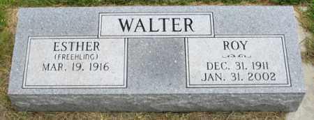 WALTER, ESTHER - Dundy County, Nebraska | ESTHER WALTER - Nebraska Gravestone Photos