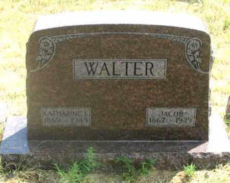 WALTER, JACOB - Dundy County, Nebraska | JACOB WALTER - Nebraska Gravestone Photos