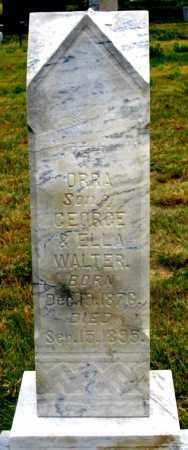 WALTER, ORRA - Dundy County, Nebraska   ORRA WALTER - Nebraska Gravestone Photos