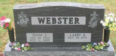 WEBSTER, LARRY D. - Dundy County, Nebraska | LARRY D. WEBSTER - Nebraska Gravestone Photos