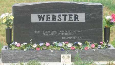 WEBSTER, SHANE REAR VIEW - Dundy County, Nebraska | SHANE REAR VIEW WEBSTER - Nebraska Gravestone Photos
