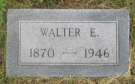 WELCH, WALTER E. - Dundy County, Nebraska | WALTER E. WELCH - Nebraska Gravestone Photos