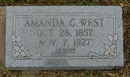KAUFMAN WEST, AMANDA C. - Dundy County, Nebraska | AMANDA C. KAUFMAN WEST - Nebraska Gravestone Photos