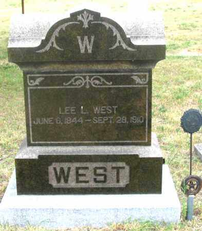 WEST, LEE L. - Dundy County, Nebraska | LEE L. WEST - Nebraska Gravestone Photos