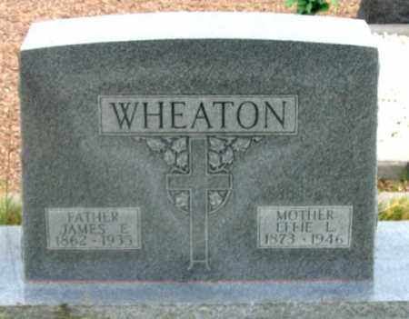 WHEATON, JAMES EDWIN - Dundy County, Nebraska | JAMES EDWIN WHEATON - Nebraska Gravestone Photos