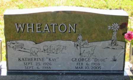 "WHEATON, GEORGE ""DUDE"" - Dundy County, Nebraska | GEORGE ""DUDE"" WHEATON - Nebraska Gravestone Photos"