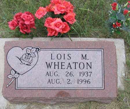 WHEATON, LOIS M. - Dundy County, Nebraska | LOIS M. WHEATON - Nebraska Gravestone Photos