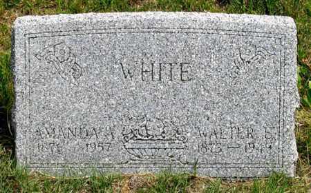 WHITE, WALTER E. - Dundy County, Nebraska | WALTER E. WHITE - Nebraska Gravestone Photos