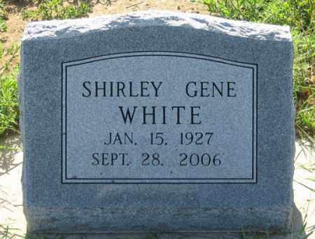 WHITE, SHIRLEY GENE - Dundy County, Nebraska | SHIRLEY GENE WHITE - Nebraska Gravestone Photos
