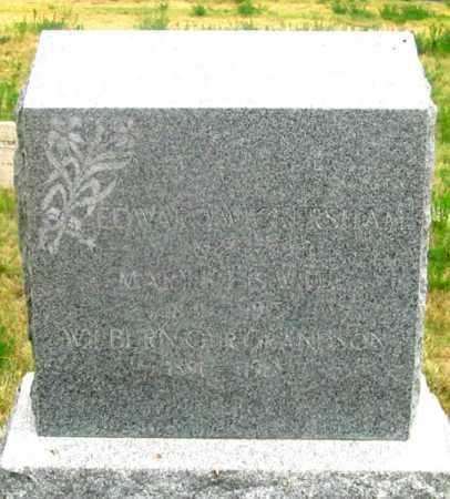 WICKERSHAM, WILBURN - Dundy County, Nebraska | WILBURN WICKERSHAM - Nebraska Gravestone Photos