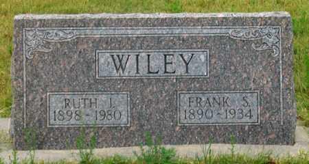 BARTLETT WILEY, RUTH IRENE - Dundy County, Nebraska | RUTH IRENE BARTLETT WILEY - Nebraska Gravestone Photos