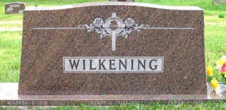 WILKENING, MILDRED C. - Dundy County, Nebraska | MILDRED C. WILKENING - Nebraska Gravestone Photos