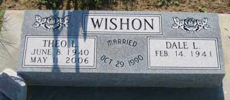 WISHON, THEO L. - Dundy County, Nebraska   THEO L. WISHON - Nebraska Gravestone Photos