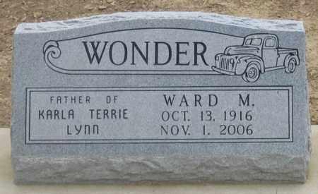 WONDER, WARD M. - Dundy County, Nebraska   WARD M. WONDER - Nebraska Gravestone Photos