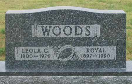 WOODS, LEOLA GRACE - Dundy County, Nebraska | LEOLA GRACE WOODS - Nebraska Gravestone Photos