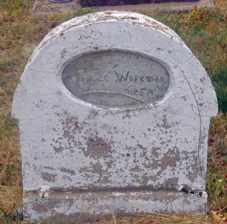 WORKMAN, CHARLES HENRY - Dundy County, Nebraska | CHARLES HENRY WORKMAN - Nebraska Gravestone Photos