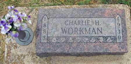"""WORKMAN, CHARLES HENRY """"CHARLIE"""" - Dundy County, Nebraska 